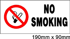Safety Signs NO Smoking Sign Jack Flash Signs