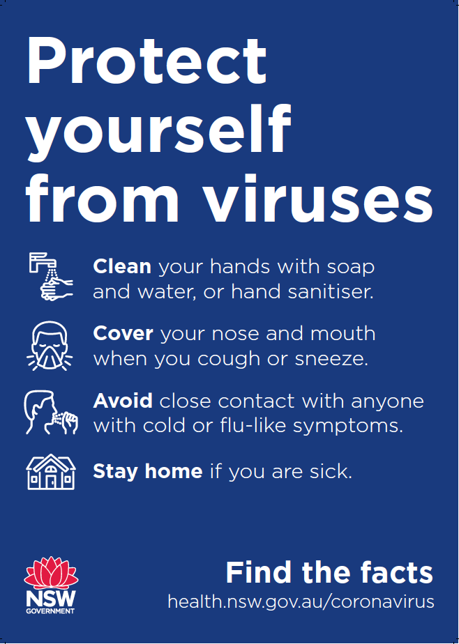 Protect Yourself From Viruses Jack Flash Signs