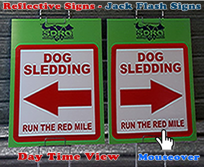 Reflective Signs Jack Flash Signs